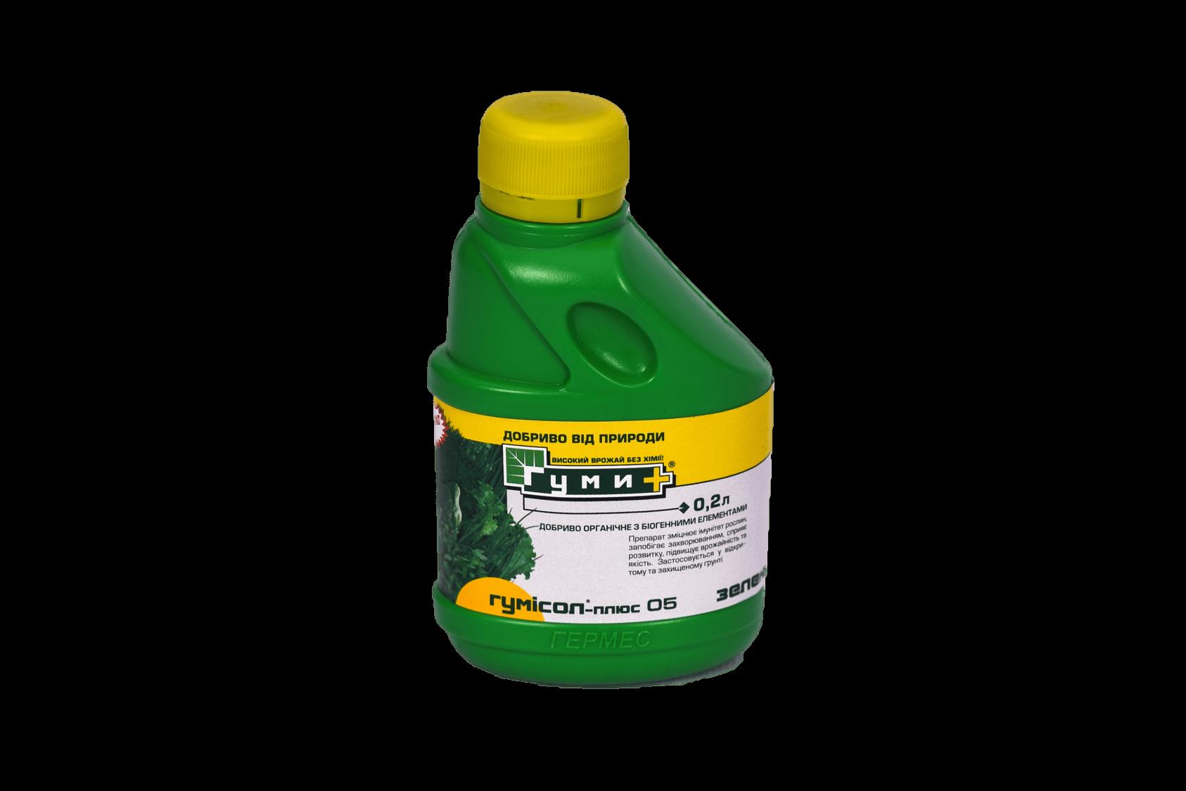 Гумісол- плюс Зеленні 0,2 л